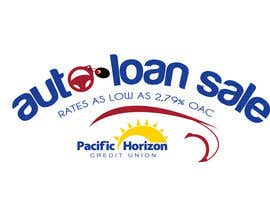 #21 para Graphic Design for Credit Union Auto Loan Sale por todeto
