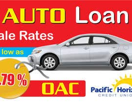 #14 untuk Graphic Design for Credit Union Auto Loan Sale oleh blacklist08