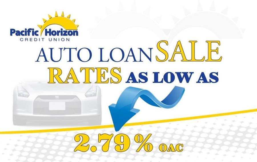 Inscrição nº 7 do Concurso para Graphic Design for Credit Union Auto Loan Sale