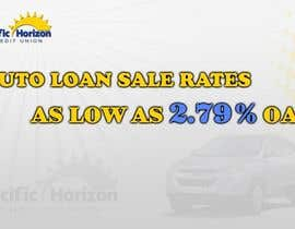 #9 para Graphic Design for Credit Union Auto Loan Sale por techwise