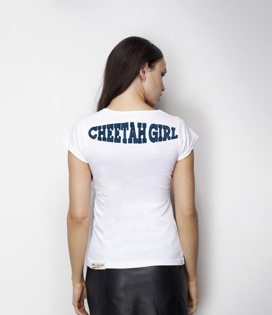 Proposition n°43 du concours Simple T-Shirt Design: Cheetah Girl