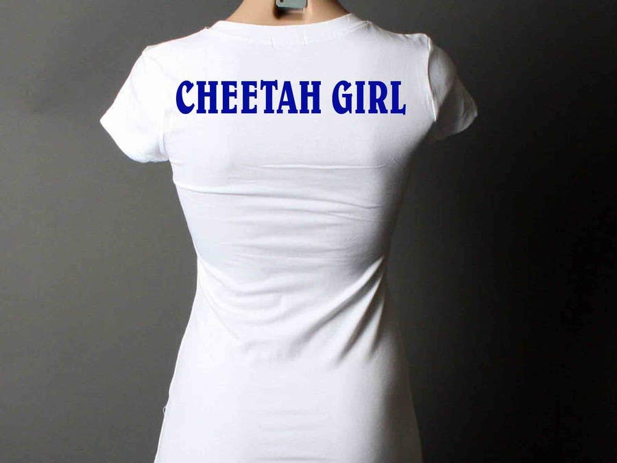 Proposition n°34 du concours Simple T-Shirt Design: Cheetah Girl