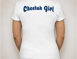 #26 for Simple T-Shirt Design: Cheetah Girl by kevalpandya