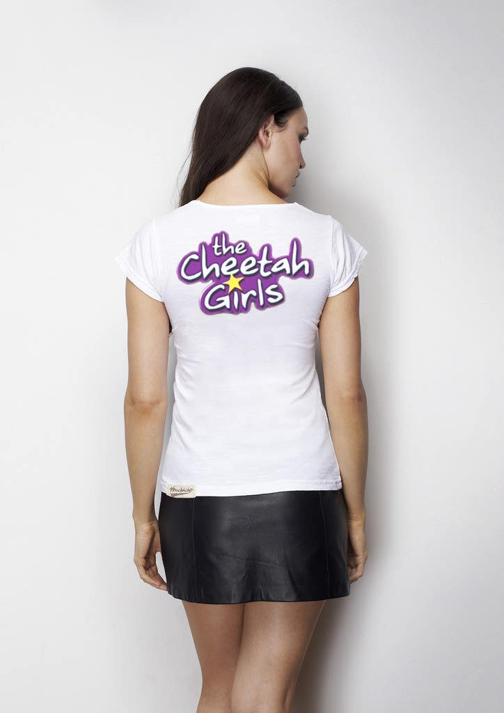 Proposition n°49 du concours Simple T-Shirt Design: Cheetah Girl