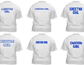 #3 untuk Simple T-Shirt Design: Cheetah Girl oleh dworker88