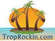 Logo Design tropical music theme blog için Graphic Design184 No.lu Yarışma Girdisi