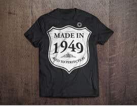 #38 para Simple T-shirt design needed ( por takackrist