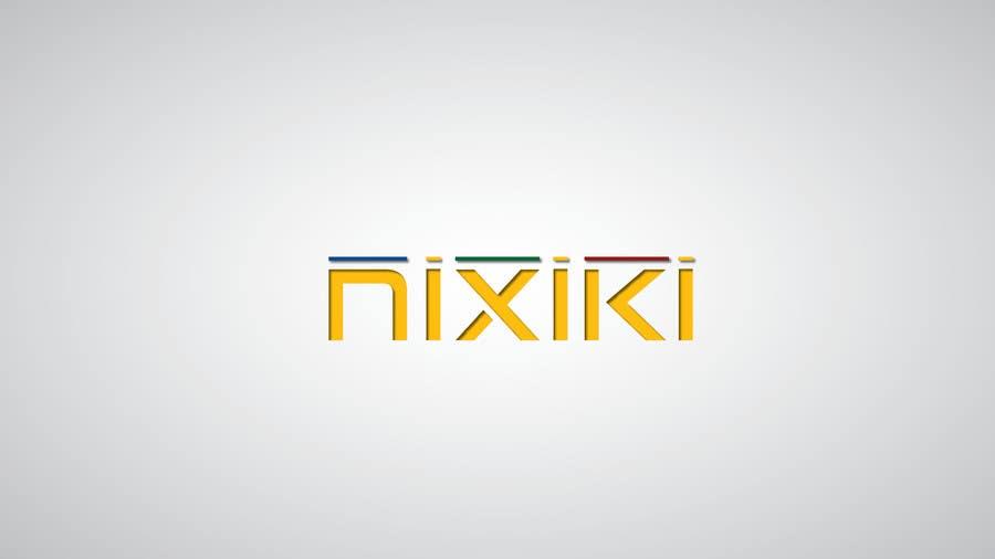 Penyertaan Peraduan #                                        73                                      untuk                                         Design a Logo for www.nixiki.com