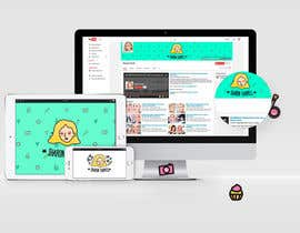 lprofesional tarafından Create A Visual Identity for a Blogger & Youtuber için no 98