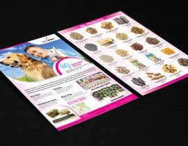 #11 para Design a Flyer for Healthy natural pet dog Treats por tahira11