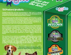#15 para Design a Flyer for Healthy natural pet dog Treats por felipe0321