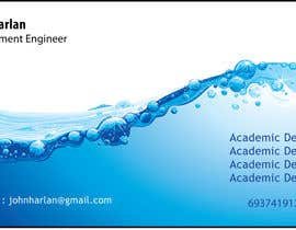 nº 5 pour Design some Business Cards for Environmental Engineer par balajirakesh70