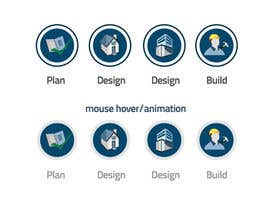 nº 16 pour Design some animated Icons for a renovation website par prefetchhabib