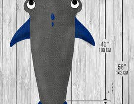 "WajahatMehdi tarafından Design for the physical product called ""shark tail blanket for kids"" için no 16"