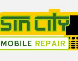 #47 untuk Design a Logo for a Cell Phone Repair Company in Las Vegas - Sin City oleh husilly