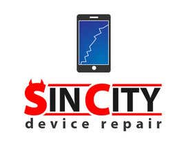 #43 untuk Design a Logo for a Cell Phone Repair Company in Las Vegas - Sin City oleh gabrielpirs