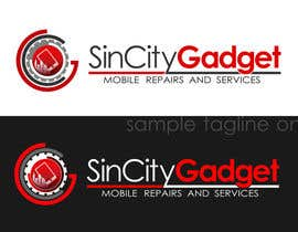 #54 untuk Design a Logo for a Cell Phone Repair Company in Las Vegas - Sin City oleh dandrexrival07