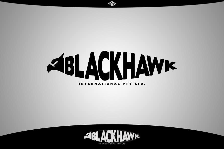 Penyertaan Peraduan #                                        401                                      untuk                                         Logo Design for Blackhawk International Pty Ltd
