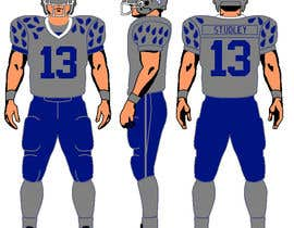 studweiser13 tarafından North Texas Orcas Football Team Uniform Contest için no 7