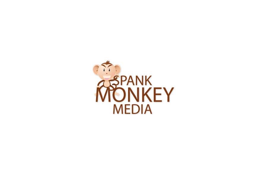 Bài tham dự cuộc thi #438 cho Logo Design for Spank Monkey Media