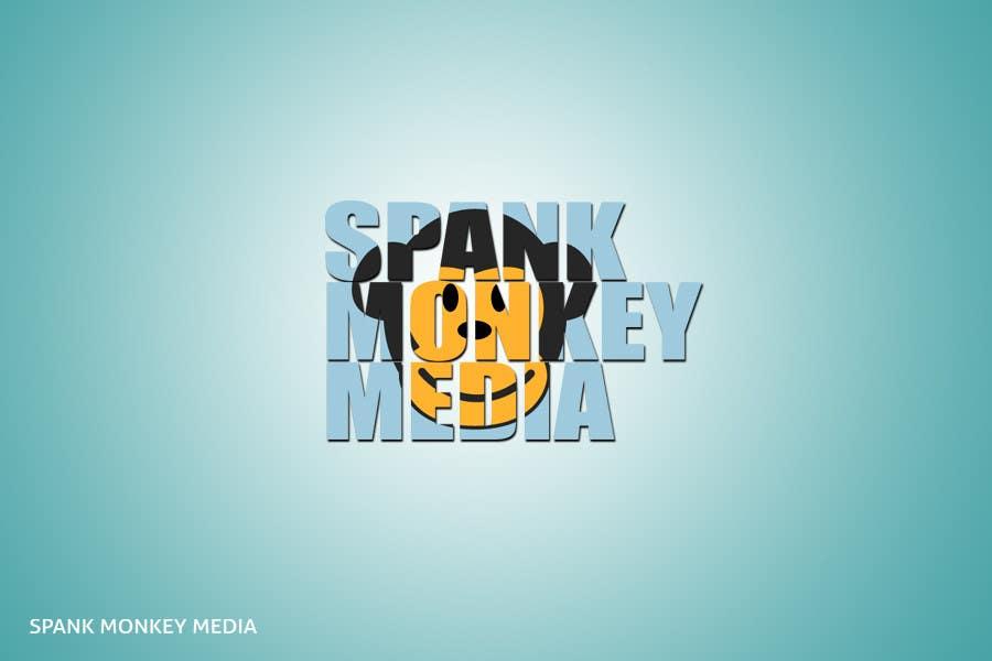 Inscrição nº 235 do Concurso para Logo Design for Spank Monkey Media