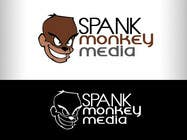 Graphic Design Конкурсная работа №406 для Logo Design for Spank Monkey Media