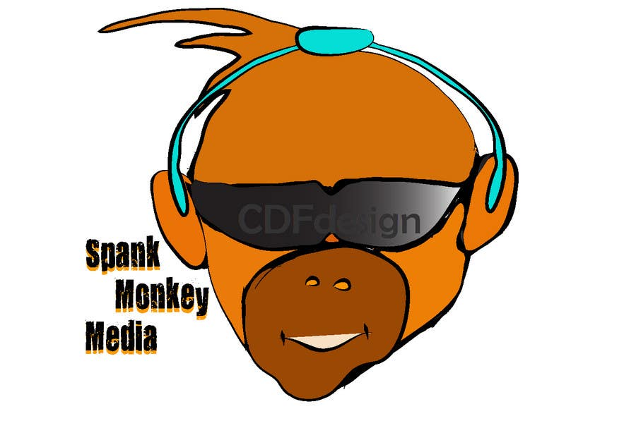 Logo Design Contest Entry #332 for Logo Design for Spank Monkey Media
