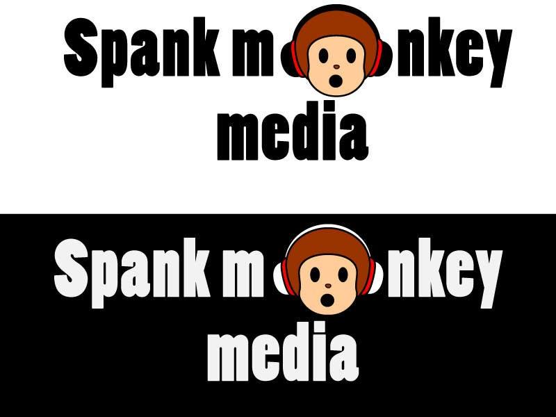 Kilpailutyö #474 kilpailussa Logo Design for Spank Monkey Media