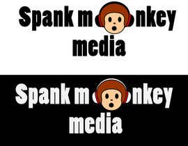 #474 untuk Logo Design for Spank Monkey Media oleh stephen66