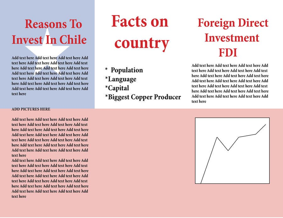 Bài tham dự cuộc thi #                                        6                                      cho                                         Design a Brochure for Mining in Chile