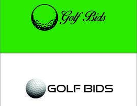 #28 para Design a Logo for Golf Bids por TATHAE