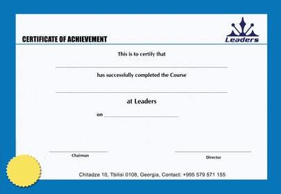 #8 for Certificate design af ranjandesigner