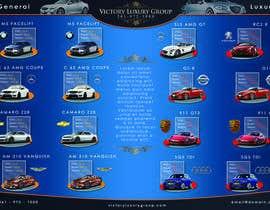 Nro 7 kilpailuun Design a Flyer for Car Rental käyttäjältä Luqpa