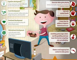 nº 12 pour Make an illustration/photo that visualizes benefits and concerns of playing video games par W3WEBHELP
