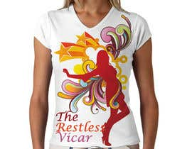 nº 66 pour T-shirt Design for  the restless vicar par mykferrer