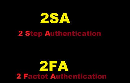 shakthik92 tarafından Come up with the name of my new Two Factor Authentication application için no 39