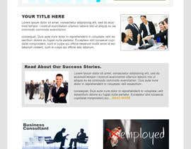 nº 5 pour Design for a simple one page responsive layout for a investment business par nakib14