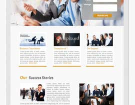 #9 untuk Design for a simple one page responsive layout for a investment business oleh nakib14