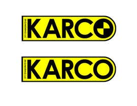 nº 34 pour Logo Design for KARCO Engineering, LLC. par GlenTimms
