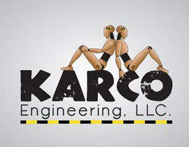 #281 para Logo Design for KARCO Engineering, LLC. por Clacels