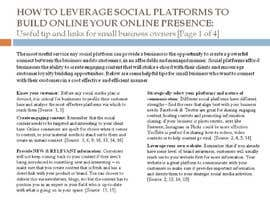 #7 for Write some Articles for online media research af radhikasen