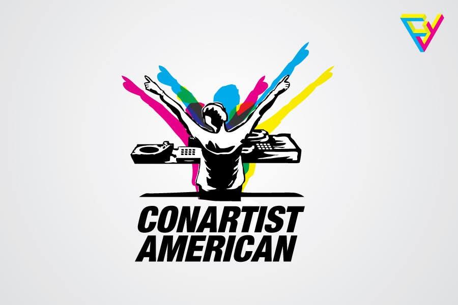 Kilpailutyö #74 kilpailussa Logo Design for ConArtist American
