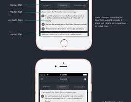 #10 for UX Designer for one app screen by nihalnova