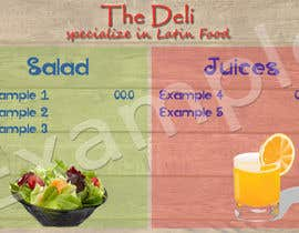 nº 1 pour Menu Design for Deli par dharmanoviyanto