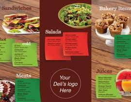 nº 18 pour Menu Design for Deli par virginiarojas