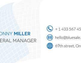 mra575fac040cb61 tarafından Design a business card for our company için no 6