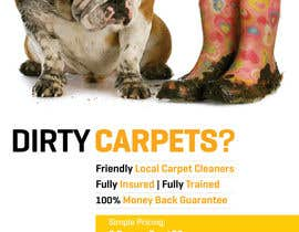 #9 para Design a Flyer for a carpet cleaning business. DOUBLE sided por samazran