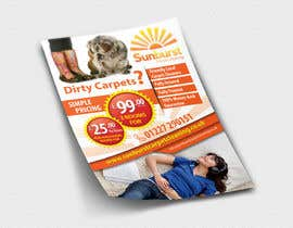 #33 para Design a Flyer for a carpet cleaning business. DOUBLE sided por dalizon