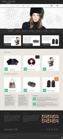 #3 untuk Homepage mock up for ecommerce site oleh zicmedia