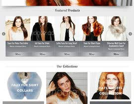 #9 untuk Homepage mock up for ecommerce site oleh TemplateDigitale
